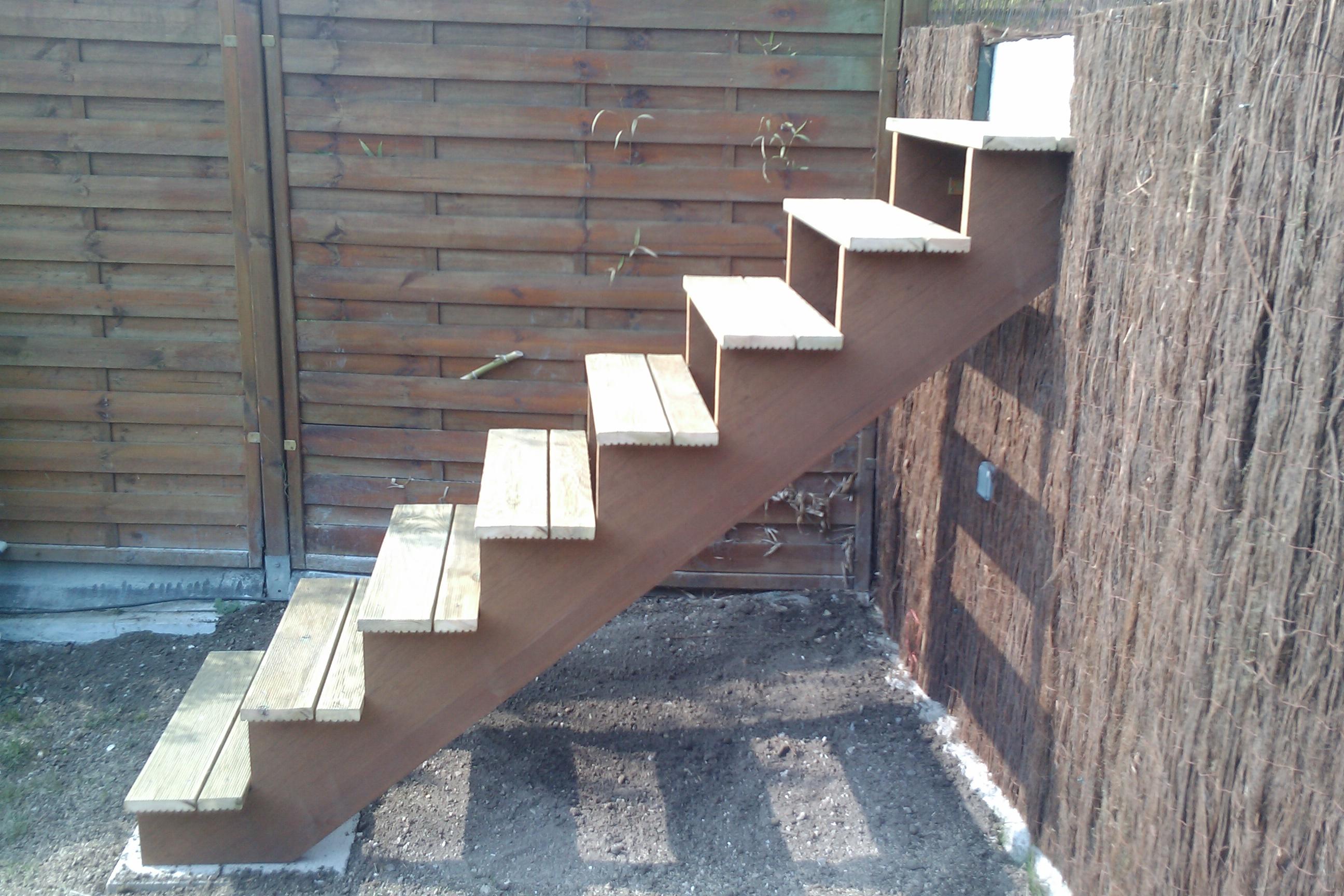 Assez Fabriquer Escalier Bois Exterieur – Obasinc.com BB36