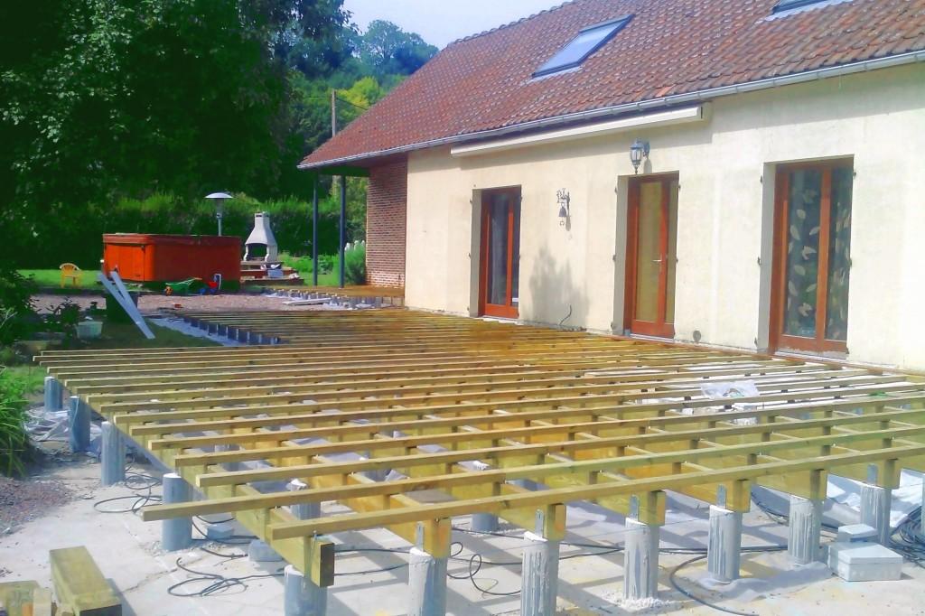Construire Une Terrasse En Bois Paysagiste Amiens