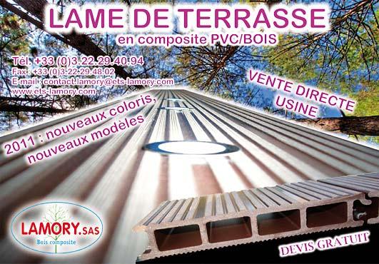 Lame De Terrasse En Bois Composite Lamory Pictures